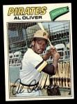 1977 Topps #130  Al Oliver  Front Thumbnail
