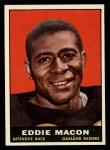 1961 Topps #183  Eddie Macon  Front Thumbnail