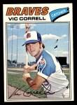 1977 Topps #364  Vic Correll  Front Thumbnail