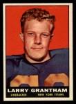 1961 Topps #154  Larry Grantham  Front Thumbnail
