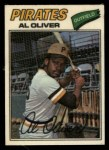 1977 Topps Cloth #34  Al Oliver  Front Thumbnail