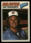 1977 Topps Cloth #28  Andy Messersmith  Front Thumbnail