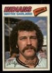 1977 Topps Cloth #17  Wayne Garland  Front Thumbnail