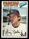 1977 Topps #20  Graig Nettles  Front Thumbnail