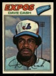 1977 Topps Cloth #12  Dave Cash  Front Thumbnail