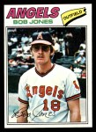 1977 Topps #16  Bob Jones  Front Thumbnail