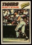 1977 Topps Cloth #46  Rusty Staub  Front Thumbnail