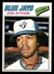 1977 Topps #326  Jesse Jefferson  Front Thumbnail