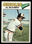 1977 Topps #626  Al Bumbry  Front Thumbnail