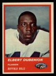1963 Fleer #26  Elbert Dubenion  Front Thumbnail