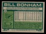 1977 Topps #446  Bill Bonham  Back Thumbnail