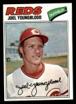 1977 Topps #548  Joel Youngblood  Front Thumbnail