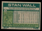 1977 Topps #88  Stan Wall  Back Thumbnail