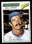 1977 Topps #334  Bill Stein  Front Thumbnail