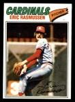 1977 Topps #404  Eric Rasmussen  Front Thumbnail