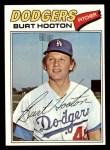 1977 Topps #484  Burt Hooton  Front Thumbnail