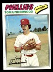 1977 Topps #217  Tom Underwood  Front Thumbnail