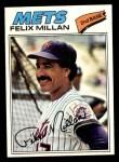 1977 Topps #605  Felix Millan  Front Thumbnail