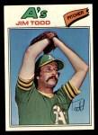 1977 Topps #31  Jim Todd  Front Thumbnail