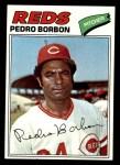 1977 Topps #581  Pedro Borbon  Front Thumbnail