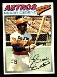 1977 Topps #90  Cesar Cedeno  Front Thumbnail
