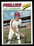 1977 Topps #569  Jim Lonborg  Front Thumbnail