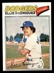 1977 Topps #448  Ellie Rodriguez  Front Thumbnail