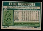 1977 Topps #448  Ellie Rodriguez  Back Thumbnail