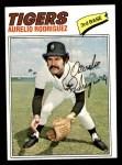 1977 Topps #574  Aurelio Rodriguez  Front Thumbnail