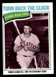 1977 Topps #437   -  Ralph Kiner Turn Back The Clock Front Thumbnail