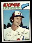 1977 Topps #274  Don Stanhouse  Front Thumbnail
