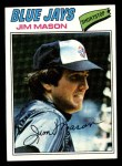 1977 Topps #212  Jim Mason  Front Thumbnail