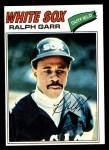 1977 Topps #133  Ralph Garr  Front Thumbnail
