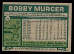 1977 Topps #40  Bobby Murcer  Back Thumbnail