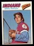 1977 Topps #62  Eric Raich  Front Thumbnail