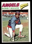 1977 Topps #570  Bobby Bonds  Front Thumbnail