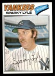 1977 Topps #598  Sparky Lyle  Front Thumbnail