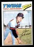 1977 Topps #202  Tom Johnson  Front Thumbnail