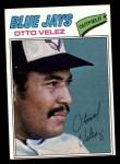 1977 Topps #299  Otto Velez  Front Thumbnail