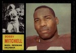1962 Topps #166  Bobby Mitchell  Front Thumbnail