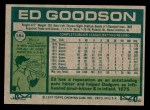 1977 Topps #584  Ed Goodson  Back Thumbnail
