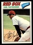 1977 Topps #480  Carl Yastrzemski  Front Thumbnail
