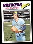 1977 Topps #604  Jim Slaton  Front Thumbnail
