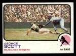 1973 Topps #263  George Scott  Front Thumbnail