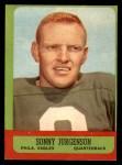 1963 Topps #110  Sonny Jurgensen  Front Thumbnail