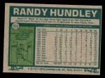 1977 Topps #502  Randy Hundley  Back Thumbnail