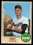 1968 Topps #66 ^WT^ Casey Cox  Front Thumbnail