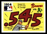 #  12  1914 Braves/A's - 1971 Fleer World Series Front Thumbnail