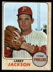 1968 Topps #81  Larry Jackson  Front Thumbnail