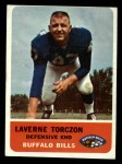 1962 Fleer #21  Laverne Torczon  Front Thumbnail